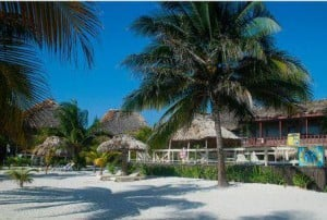 Ambergris Caye Beach Resort View from the Water