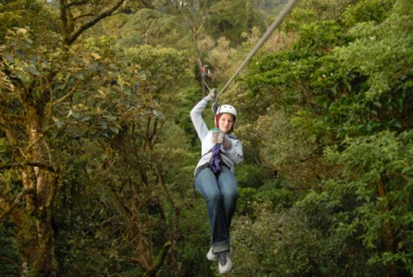 Zip Lining Belize