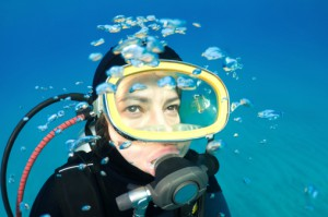 Scuba Diving on Ambergris Caye Belize