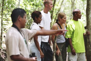 Tour Group in Belize